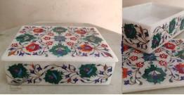 तराश ☘ Pacchikari (Inlay) Marble Box ☘ 25