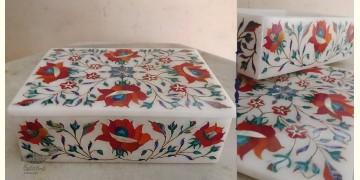 तराश ☘ Pacchikari (Inlay) Marble Box ☘ 26