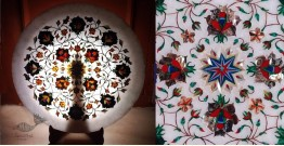 तराश ☘ Pacchikari (Inlay) Marble Plate ☘ 33