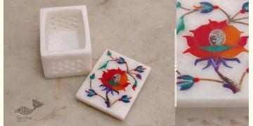 तराश ☘ Pacchikari (Inlay) Marbel Jali Box ☘ 2