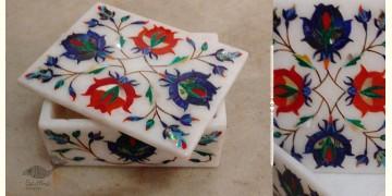तराश ☘ Pacchikari (Inlay) Marbel box ☘ 1