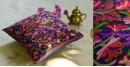 गुल ✩ Kashmiri Ari Embroidery Cushion Cover (16 x 16) ✩ 32
