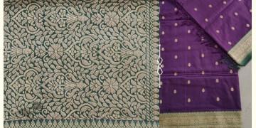 Jaanki . जानकी ✽ Handwoven Banarasi Silk Saree ✽ 28