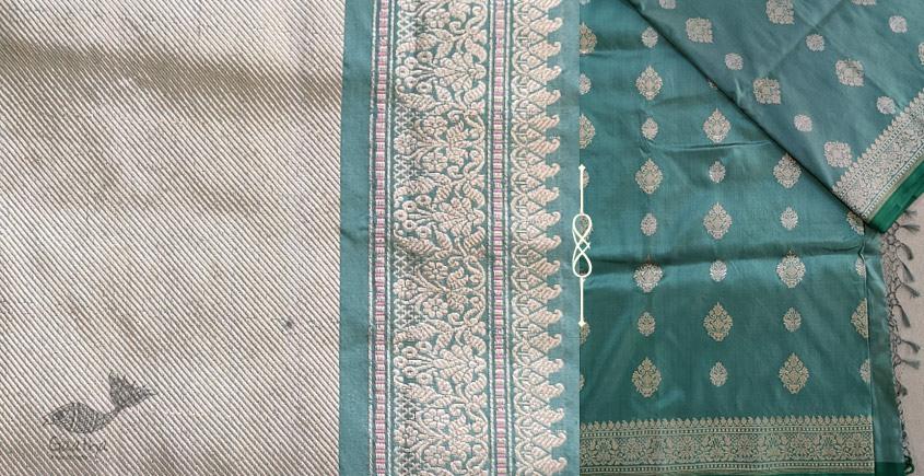 Jaanki . जानकी ✽ Handwoven Banarasi Silk Saree ✽ 33