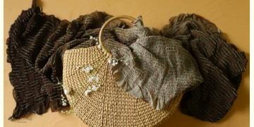 Twinkle drops ~ Silk Bandhani Masterpiece Dupatta ~ H