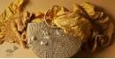 Twinkle drops ~ Silk Bandhani Masterpiece Dupatta ~ I