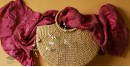 Twinkle drops ~ Silk Bandhani Masterpiece Dupatta ~ J