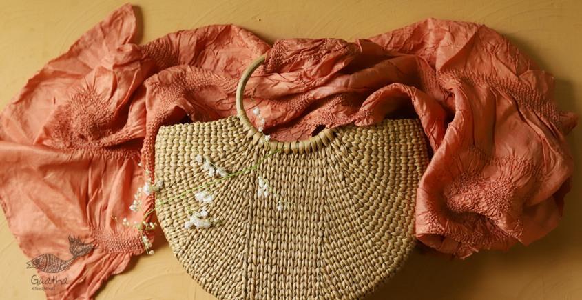 Twinkle drops ~ Silk Bandhani Masterpiece Dupatta ~ L