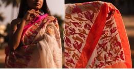 Kamya . काम्या ✽ Hand Embroidered Handloom Kota Saree - 33