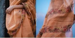 Kamya . काम्या ✽ Hand Embroidered Handloom Kota Saree - 35
