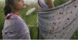Kamya . काम्या ✽ Handloom Jamdani Cotton Saree - 17