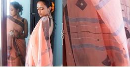 Kamya . काम्या ✽ Handloom Jamdani Cotton Saree - 18