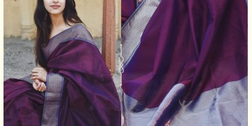 Kamya . काम्या ✽ Handloom Maheshwari Saree - 12