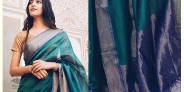 Kamya . काम्या ✽ Handloom Maheshwari Saree - 13