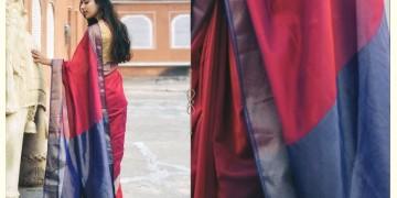 Kamya . काम्या ✽ Handloom Maheshwari Saree - 15
