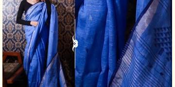 Kamya . काम्या ✽ Jamdani Linen Saree - 24