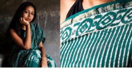 काम्या . kamya ✽ Cotton Silk Dabu Printed Saree - 1