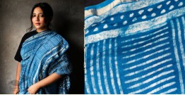 काम्या . kamya ✽ Cotton Silk Dabu Printed Saree - 3