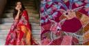 काम्या . kamya ✽ Batik Handloom Maheshwari Saree - 4