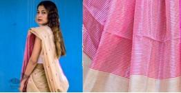 काम्या . kamya ✽ Handloom Cotton Silk Chanderi Saree - 10