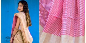 काम्या . kamya ✽ Handloom Cotton Silk Chanderi Saree - 10