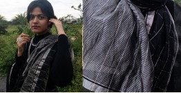 काम्या . kamya ✽ Handloom Cotton Silk Chanderi Saree - 9