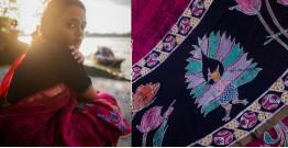 काम्या . kamya ✽ Batik Handloom Maheshwari Saree - 6