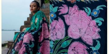 काम्या . kamya ✽ Batik Handloom Maheshwari Saree - 7