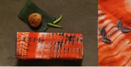नखराली   Nakharali ✼ Embroidered Cotton Shibori Saree   1