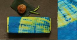 नखराली | Nakharali ✼ Embroidered Cotton Shibori Saree | 7