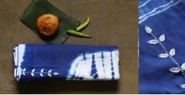 नखराली | Nakharali ✼ Embroidered Cotton Shibori Saree | 8