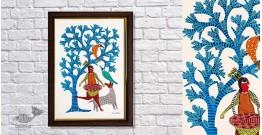 Gond Folk & Tribal Art Painting ( 25cm x 35cm ) | 7