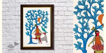 Gond Folk & Tribal Art Painting ( 25cm x 35cm ) | 7