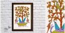 Gond Folk & Tribal Art Painting ( 25cm x 35cm )   12