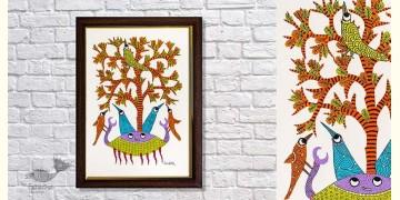 Gond Folk & Tribal Art Painting ( 25cm x 35cm ) | 12