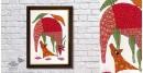 Gond Folk & Tribal Art Painting ( 25cm x 35cm )   13