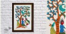 Gond Folk & Tribal Art Painting ( 25cm x 35cm )   6