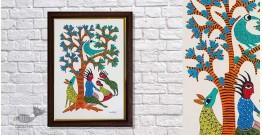 Gond Folk & Tribal Art Painting ( 25cm x 35cm ) | 6
