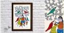 Gond Folk & Tribal Art Painting ( 25cm x 35cm )   8