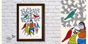 Gond Folk & Tribal Art Painting ( 25cm x 35cm ) | 8