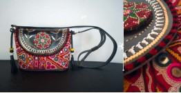 Tunes From the Duens ⌘ Leather Handbag With Kutchi Embroidery ⌘ 15