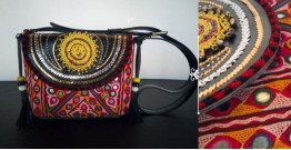 Tunes From the Duens ⌘ Leather Handbag With Kutchi Embroidery ⌘ 16