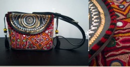 Tunes From the Duens ⌘ Leather Handbag With Kutchi Embroidery ⌘ 17