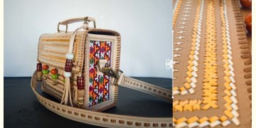Tunes From the Duens ⌘ Leather Handbag With Kutchi Embroidery ⌘ 20