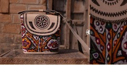 Tunes From the Duens ⌘  Leather Handbag With Kutchi Embroidery ⌘ 4