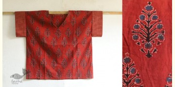 Kasturi ✥ Cotton Block Printed Top ✥ A