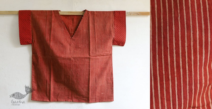 Kasturi ✥ Cotton Block Printed Top ✥ F