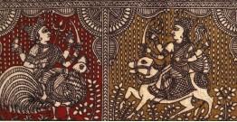 Sacred cloth of the Goddess - Six Devi ( 15' X 18' )