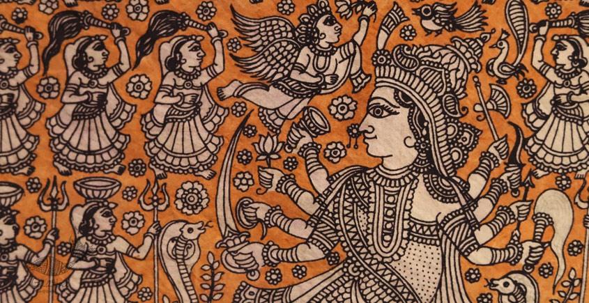 Sacred cloth of the Goddess - Nageshvari Maa ( 15' X 18' )