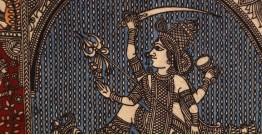 "Sacred cloth of the Goddess - Aadhya Shakti Maa ( 15"" X 18"" )"